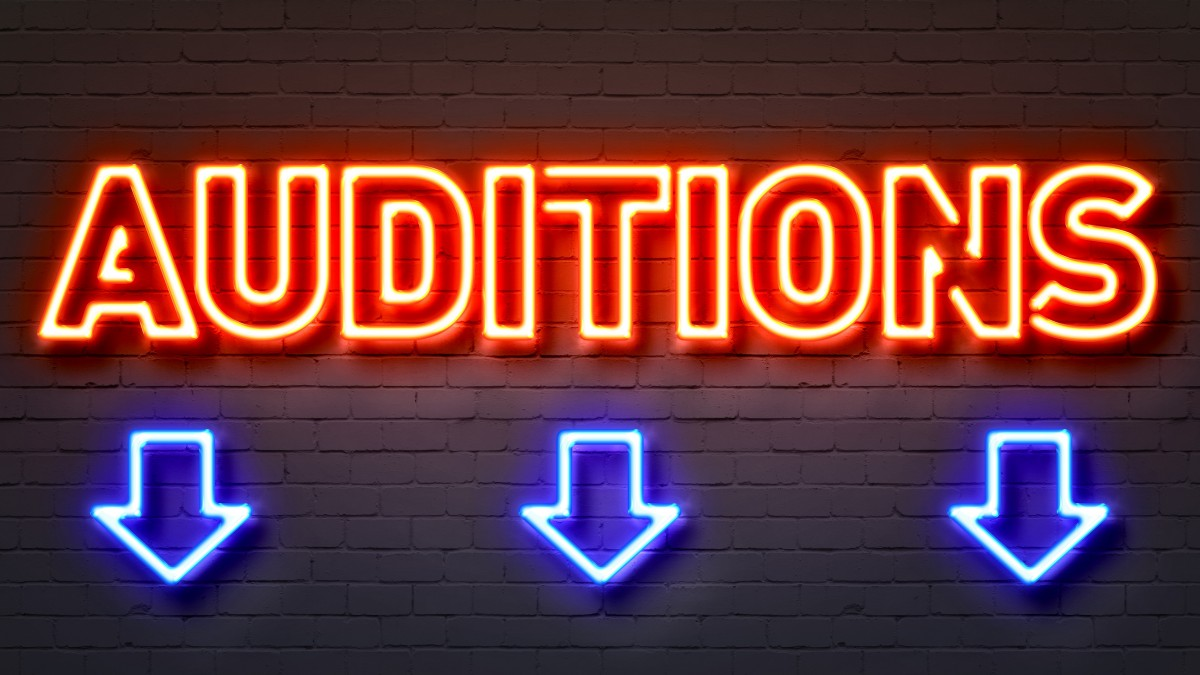 AUDITIONS??! Already??!